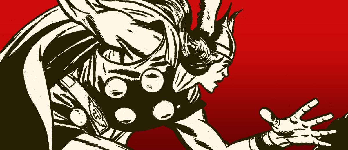 O deus do trovão: um super-herói Shell