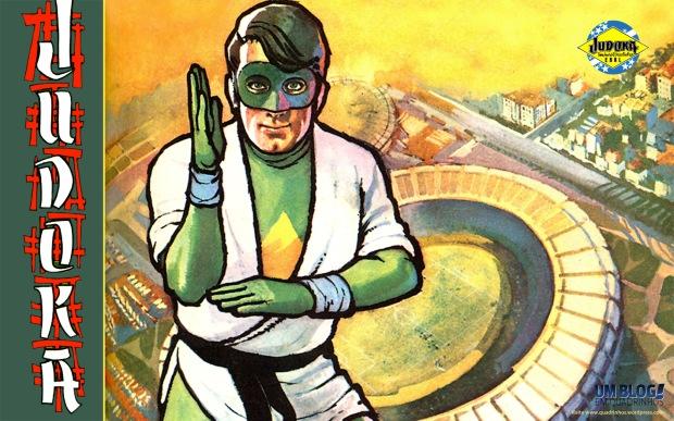 O Judoka, desenho de Mário Lima