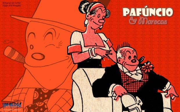 Pafúncio & Marocas - Wallpaper