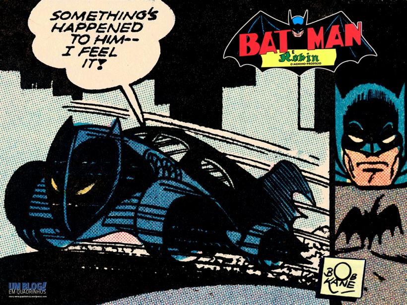 O batmóvel de Bob Kane